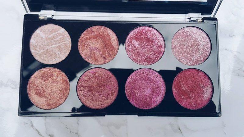 Makeup Revolution Blush Queen palette The LDN Gal 4