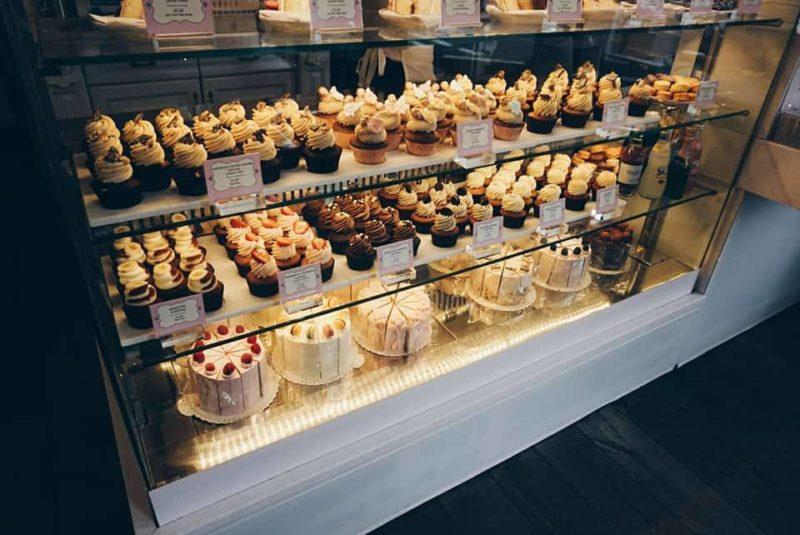 Peggy Porschen Cake Display, London