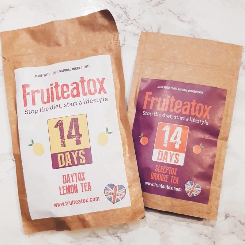 Fruiteatox Daytox Lemon Tea and Sleeptox Orange Tea 14 Days review