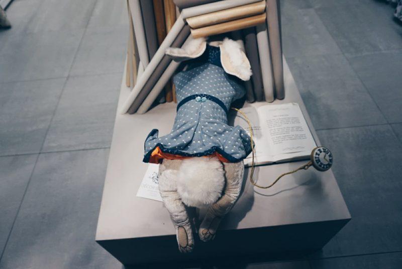 John Lewis Oxford - White Rabbit Alice in Wonderland - The LDN Gal