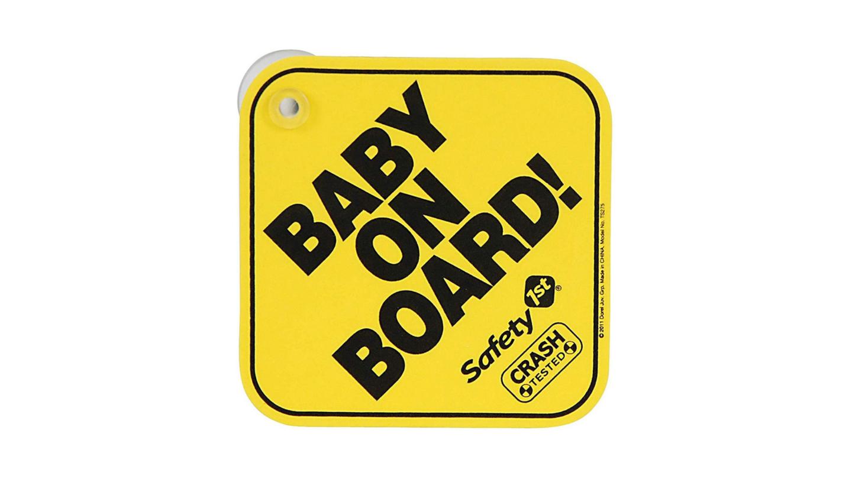 Baby on Board Car Sign | Newborn essentials Amazon UK