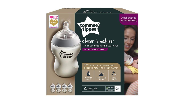 Tommee Tippee Closer to Nature® Baby Bottles  | Newborn essentials Amazon UK